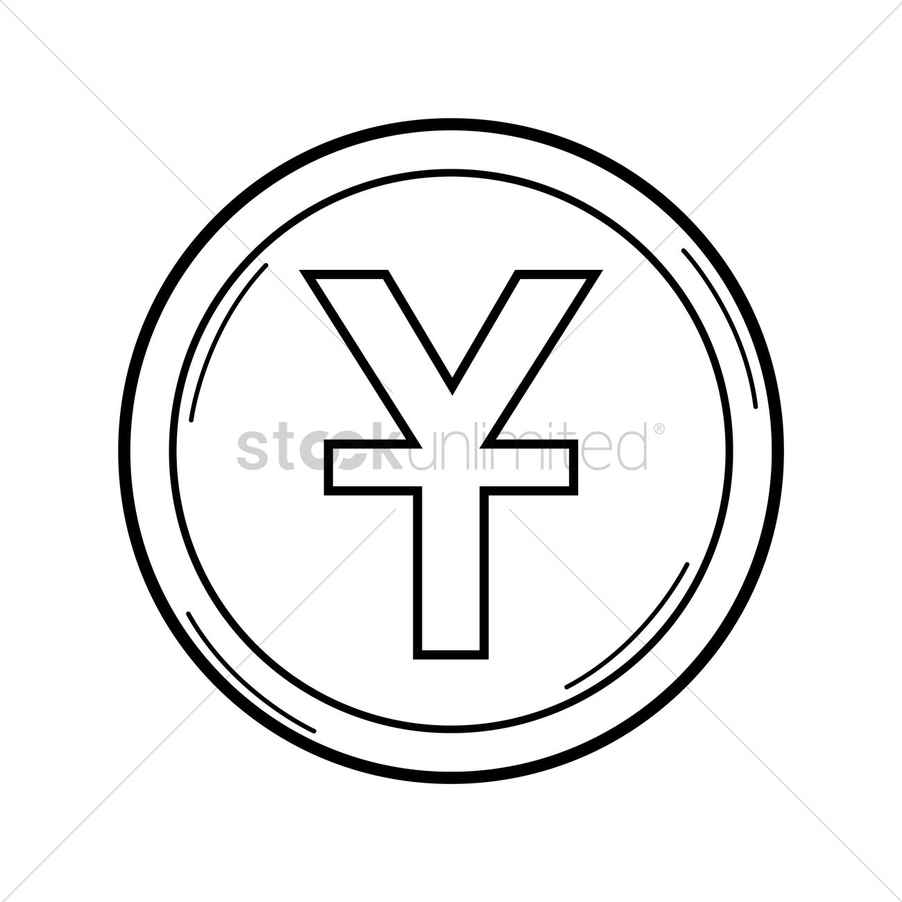 Yuan currency symbol vector image 1575977 stockunlimited yuan currency symbol vector graphic biocorpaavc