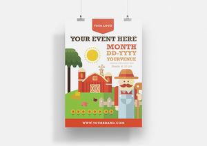 Farm : Poster Template