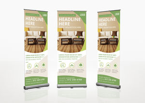 Templates : Roll-Up Banner Template
