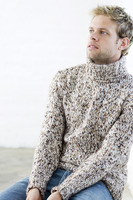 Popular : Man in sweater thinking