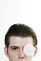 Popular : Man with an eye-patch