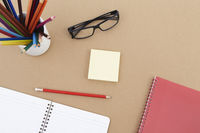 Spectacles with stationery set