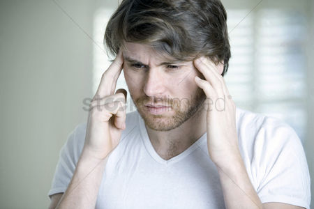 Medication : A man having migraine