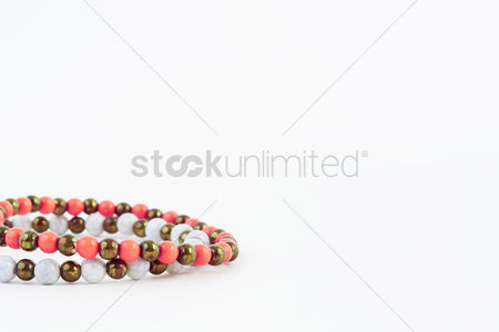 Stretchable : A pair of bracelets