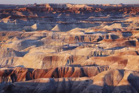 Landscape : Arid rock formation in north america
