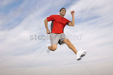 Spirit : Athlete running mid-air