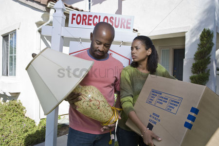 Loss : Bankrupt couple moving out of house