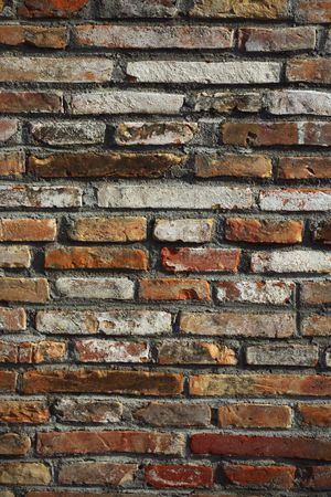 Weathered : Brick wall