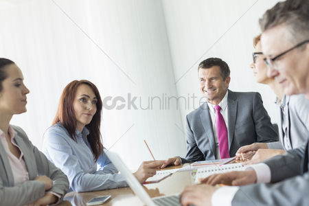 Creativity : Business people in conference room