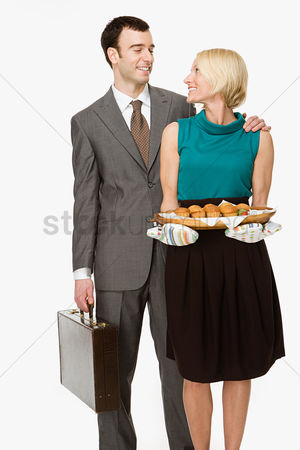 Housewife : Businessman and wife