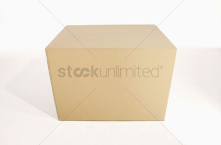 Transportation : Cardboard box