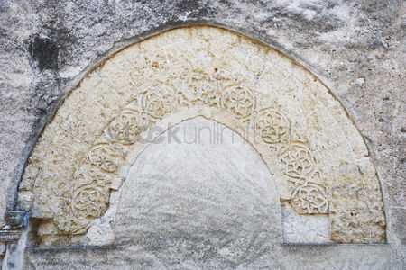 Weathered : Carving on the wall  amalfi  province of salerno  campania  italy