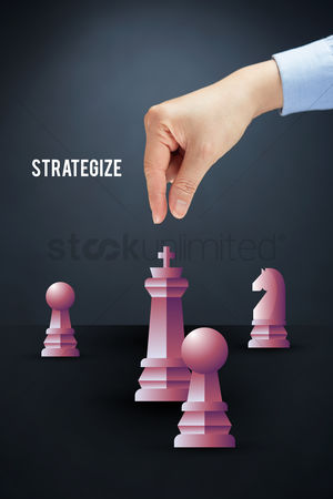 Grasp : Chess pieces with hand gesture