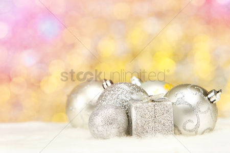 Winter : Christmas theme decoration with copy space