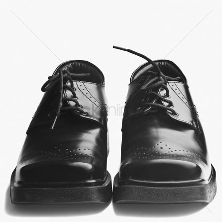 Accessories : Close-up of a pair of black shoes
