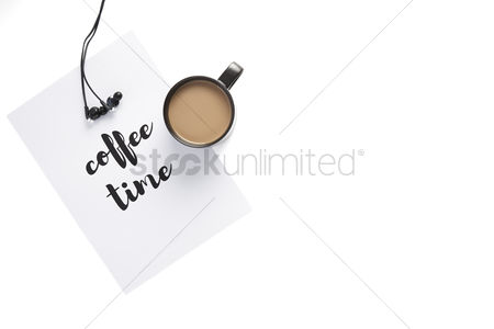 Earphone : Coffee time