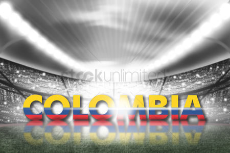 Pitch : Colombia football stadium