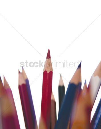 Selection : Coloured pencils