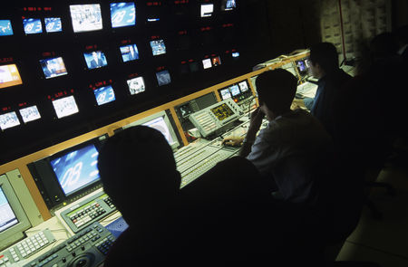 Media : Control centre of television channel