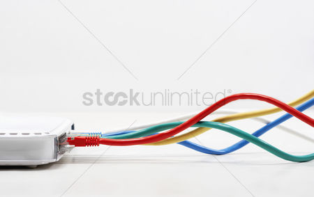 Technology : Ethernet cable connections