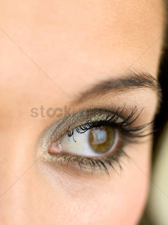 Vision : Eye of a woman