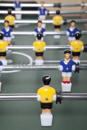 Match : Foosball figurines