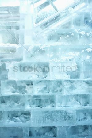 China : Ice bricks