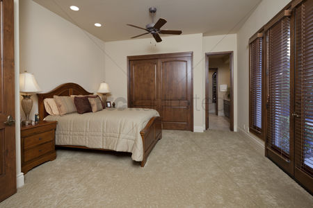 Furniture : Interior of bedroom