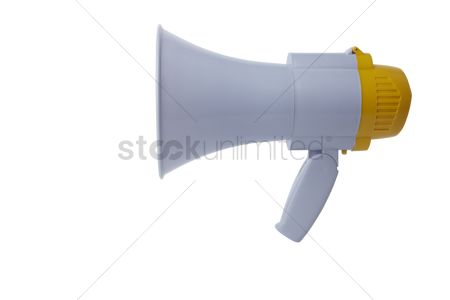Instruction : Megaphone