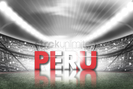 Pitch : Peru football stadium