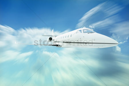 Transportation : Private airplane