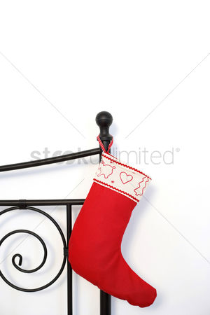 Bliss : Red christmas stocking