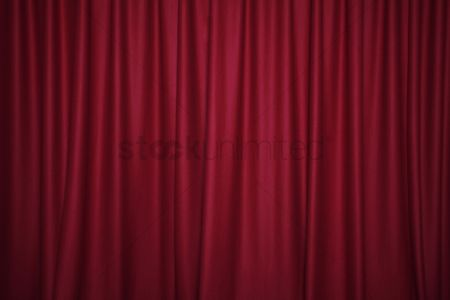 Ideas : Red stage curtain