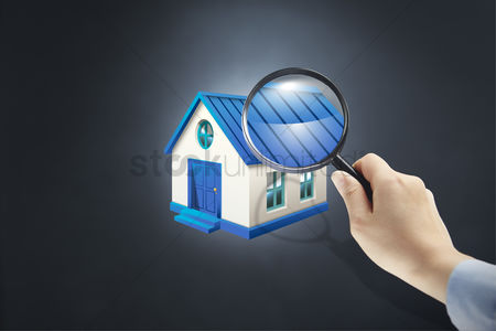 Magnifying glass : Searching for a home