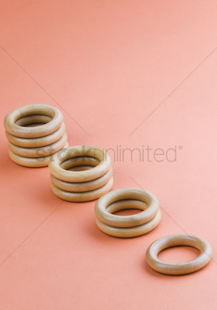 Accessories : Stacks of curtain rings