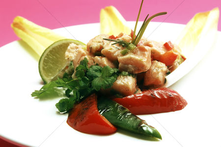 Ready to eat : Sweet and sour chicken stir-fry