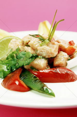 Spring : Sweet and sour chicken stir-fry