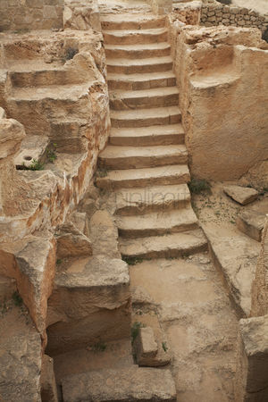 Stairs : Tombs of the kings paphos cyprus
