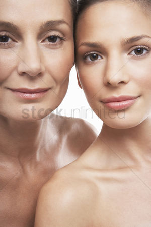 Body : Two beautiful women different ages