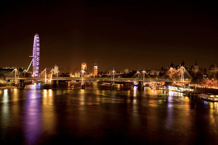 England : View from waterloo bridge