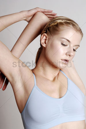Attraction : Woman stretching her body